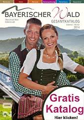 Urlaubskatalog Bayerischer Wald